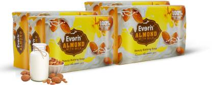Everin Natural Detoxifying Cleansing Moisturizer with Almond and Milk Extracts
