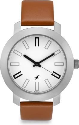 Fastrack NG3120SL01C Bare Basic Analog Watch - For Men