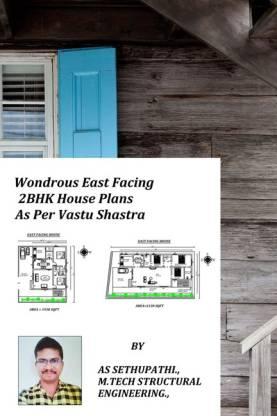 Wondrous East Facing 2BHK House Plans As Per Vastu Shastra