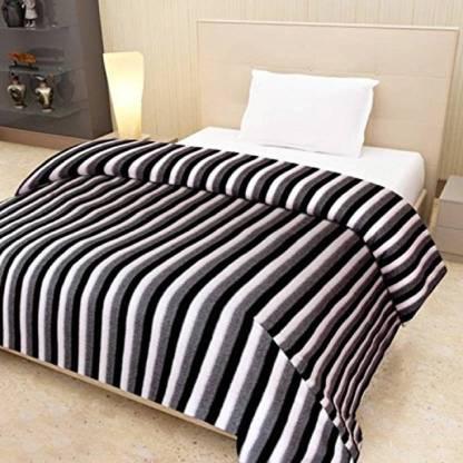 Supreme Home Collective Striped Single Fleece Blanket