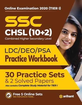 Ssc Chsl (10+2) Tier I Practice Workbook 2020