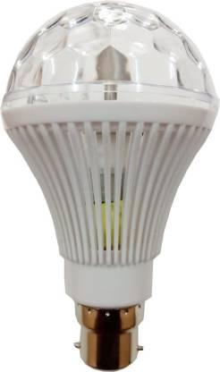 Tech Unboxing 7 W Round B22 Decorative Bulb
