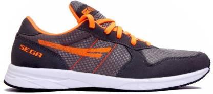 SEGA Multi Purpose Orange Marathon Training & Gym Shoes For Men
