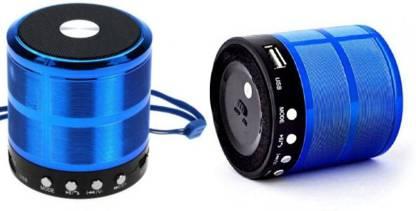 Brown Bee BS-887 Wireless Bluetooth Speaker Good Quality Sound And Deep Bass ( Blue ) 5 W Bluetooth Speaker