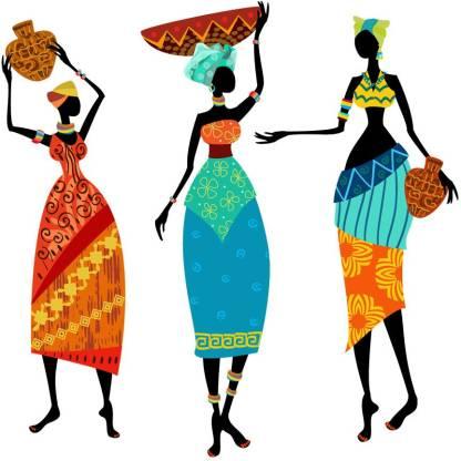 god & god's Medium South Africa Womens Wall Sticker