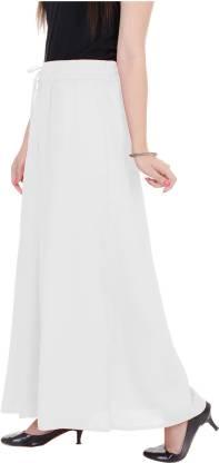 ADESA Flared Women White Trousers