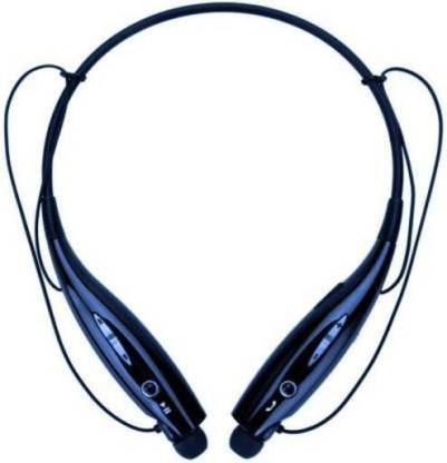 E TRADE Neckband Hi-fi Bass Sound Magnetic for Sports Travelling Bluetooth Headset