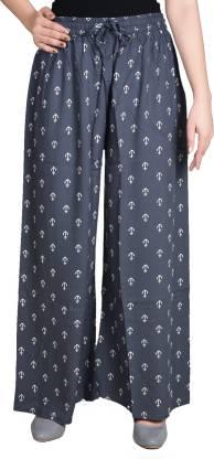 Adesa Regular Fit Women Grey Trousers