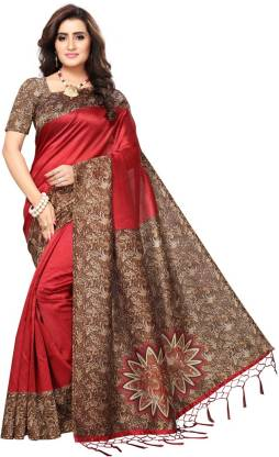 Saara Self Design Fashion Poly Silk Saree