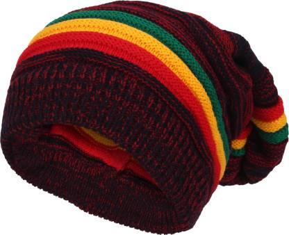 Striped Best Fabric,Best Selling, Trending, Very Warm Beanie Cap For Men's & Women's Cap