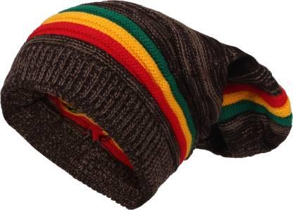 DON'T JUDGE ME Striped Best Fabric,Best Selling, Trending, Very Warm Beanie Cap For Men's & Women's Cap