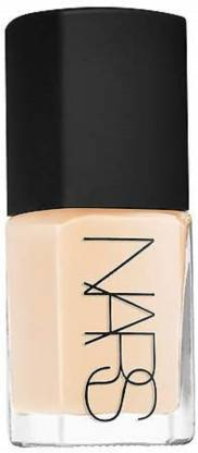 NARS Sheer Glow Foundation - Color Fiji - Light with Yellow Undertones Shimmer Finish Foundation