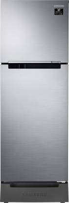 SAMSUNG 253 L Frost Free Double Door 2 Star Refrigerator with Base Drawer