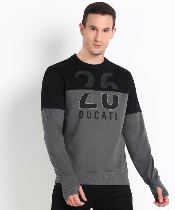 Ducati Full Sleeve Printed Men Sweatshirt