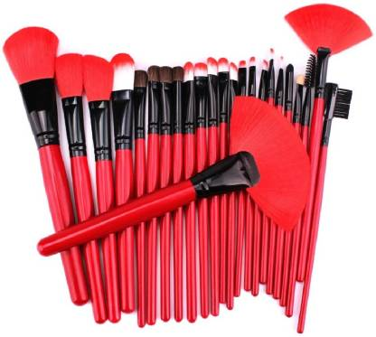 GYBest Professional 24pcs Makeup Brush Set with Leather Bag