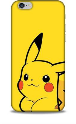Trinetra Back Cover for Apple iPhone 6 / 6S (Pikachu /Cartoon / Pokemon)