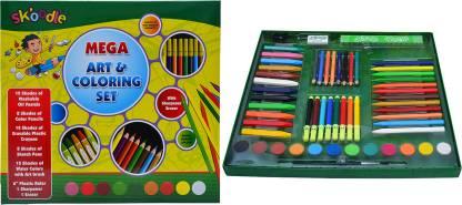 SKOODLE Mega art & Colouring set, Multicolour