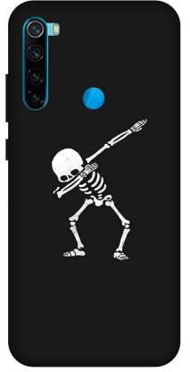TPM Back Cover for Mi Redmi Note 8 Printed Skull Dance Back Cover