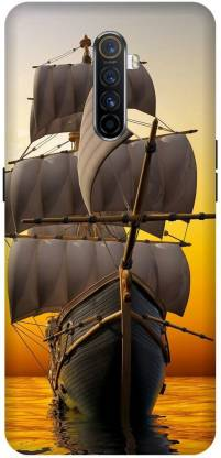 Yoprint Back Cover for Oppo Reno Ace/2201 Ship Historical Ship Printed Back Cover