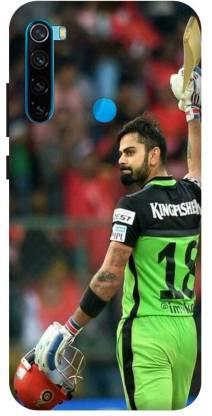 TPM Back Cover for Mi Redmi Note 8 Printed Virat Kholi,Batsman Back Cover
