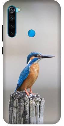 TPM Back Cover for Mi Redmi Note 8 Printed Birds,Love U Birds Back Cover
