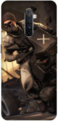 Yoprint Back Cover for Oppo Reno Ace/2201 Game Gamer Printed Back Cover