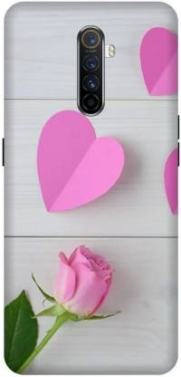 Yoprint Back Cover for Oppo Reno Ace/2201 Love Text Printed Back Cover