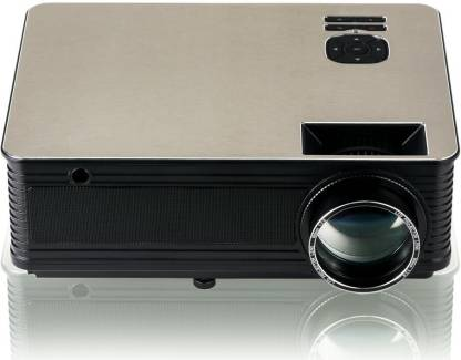 LAZERVISION LV405 FULL HD 1920*1080, USB VGA 5000 Lumens LED Projector (5000 lm / Remote Controller) Projector