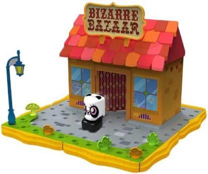 Akshat Moshi Monsters Bizarre Bazaar Store Playset w/ ShiShi [#87]