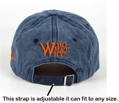 HANDCUFFS Vintage Cap Denim Baseball Cap For Men/Women - Denim Cap