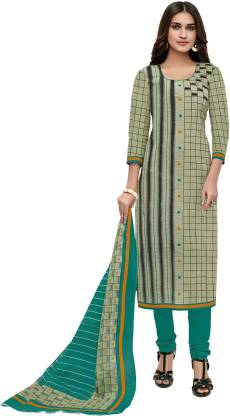 Miraan Cotton Printed Salwar Suit Material  (Unstitched)