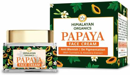 Himalayan Organics Papaya Anti Blemish & Pigmentation Removal, Spot Removal, Brightening & Fairness Cream - 50ml