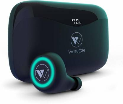 Wings PowerPods With PowerBank Function Bluetooth Headset