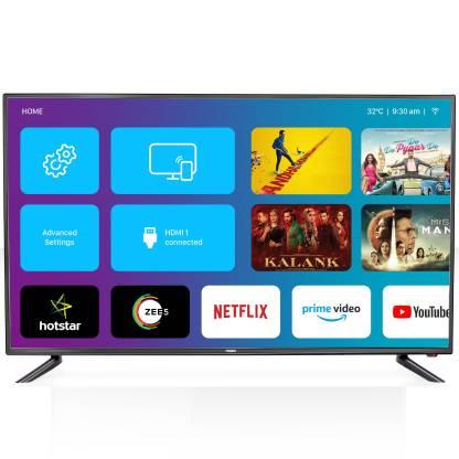 MarQ By Flipkart Innoview 124 cm (49 inch) Ultra HD (4K) LED Smart TV