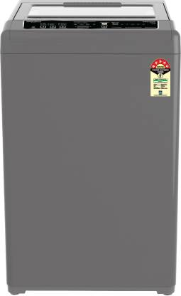Whirlpool 6.5 kg 5 Star, Hard Water wash Fully Automatic Top Load Grey
