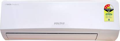 Voltas 1 Ton 3 Star Split Inverter AC  - White