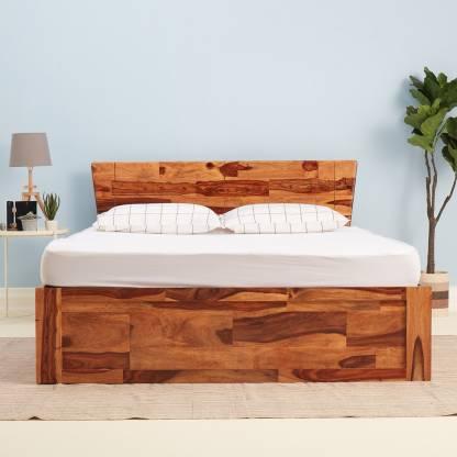 Best Auriga Solid Wood King Box Bed – Wakefit