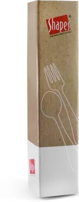 Shapes TRIPLE DOT Stainless Steel Dessert Fork Set