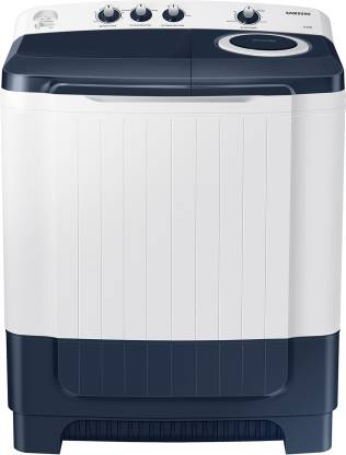 SAMSUNG 8.5 kg 5 star Semi Automatic Top Load White, Grey
