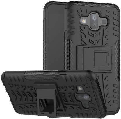 Lejaao Bumper Case for Samsung Galaxy J7 Duos Kickstand D2 Hybrid Back Cover