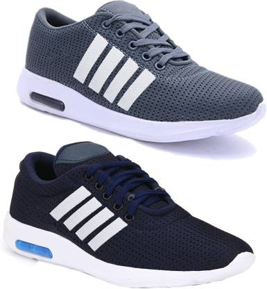 Earton Combo pack of 2 Casuals Shoes For Men (1563-1564) Sneakers For Men