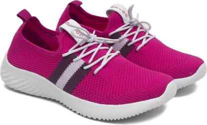 Asian Angel-04 Casual sneakers for ladies | sports shoes for women | Running shoes for girls stylish latest design new fashion | Lace up Lightweight pink shoes for jogging, walking, gym & party Running Shoes For Women