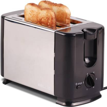 iBELL 700-Watt Bread Toaster With Mid Cycle Heating Element, Black 230 W Pop Up Toaster