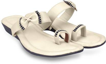 Sayera Women White Wedges
