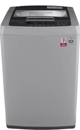 LG 7 kg Inverter Fully Automatic Top Load Grey