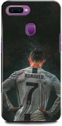 BARMANS Back Cover for Oppo F9 / Cristiano Ronaldo, Ronaldo 7, CR-7, Real Madrid, Football, Sports