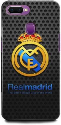 BARMANS Back Cover for Oppo A5s / Real Madrid, Ronaldo, Football, Football club, Logo
