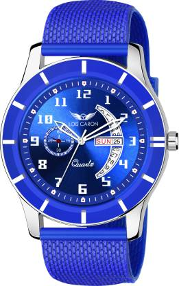LOIS CARON LCS-8208 DAY & DATE FUNCTIONING WATCH Analog Watch - For Men