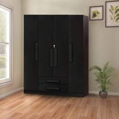 Forzza Peking Engineered Wood 4 Door Wardrobe