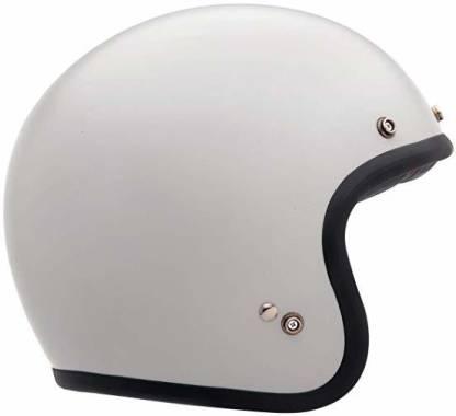 Bell Custom 500 Unisex-Adult Open face Street Helmet (Vintage White, Small) (D.O.T Motorbike Helmet